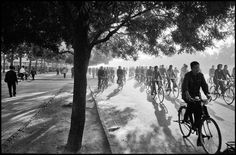 © Inge Morath, 1978, 6:30 a.m., Chang An Avenue, Beijing, China » find more of Magnum Photos here «