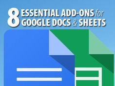 8 essential add-ons for Google Docs and Sheets