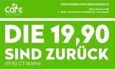 Strom sparen, ünstigen Ökostrom für 19,9 cent / kwh - das gibt es nur bei Care Energy, dem Energiedienstleister. Kostenlose SIM Karte gibt es noch dazu.