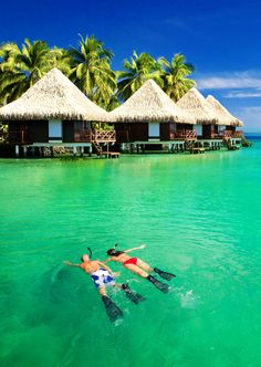 If you fancy snorkelling in the clear waters of Bora Bora, include the experience in your Patchwork Honeymoon Fund and ask wedding guests to chip in.