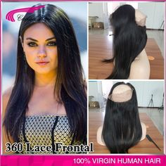 61.48$  Buy here - http://ali3nh.worldwells.pw/go.php?t=32720620376 - Brazilian 360 Lace Frontal Closure 7A  Ear to Eear Lace Frontals With Baby Hair body wave Lace Band Full Frontal Lace Closure 61.48$