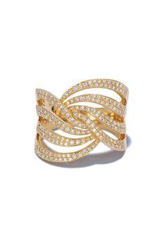I JUST BOUGHT THIS!!! GORGEOUS   Effy D'Oro 14K Yellow Gold Diamond Fashion Ring, 0.74 TCW
