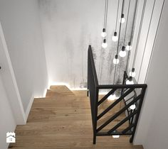 Staircase Handrail, Staircase Wall Decor, Staircase Design, Stair Lighting, Interior Lighting, Flur Design, Apartment Entryway, Hallway Designs, Interior Stairs