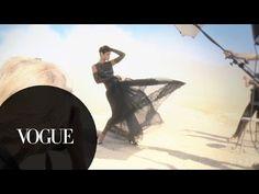 Rihanna's November 2012 Vogue Cover Shoot - YouTube