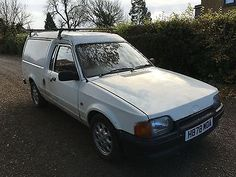 24991e8f13 eBay  1990 MK4 FORD ESCORT VAN BONUS DIESEL WHITE RUNNING PROJECT WITH  SPAIRES  classiccars  cars ukdeals.rssdata.net