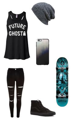 """Untitled #99"" by darksoul7 ❤ liked on Polyvore featuring KBETHOS, River Island, Casetify, Vans and Darkstar"