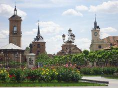 Plaza de Cervantes, Alcala de Henares, Spain