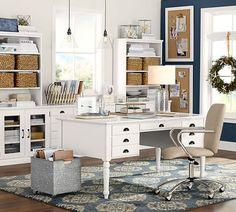 Printer's Rectangular Desk Set | Pottery Barn