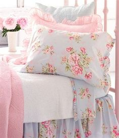 Shabby chic, cute for girls room.