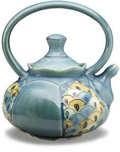 Maria Andrade Troya - #teapot #pottery http://www.mariaandradetroya.com/content/
