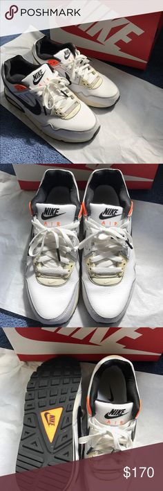 WORN ONCE -- Nike Air Max 90 Limited Edition Nike air max 90 Limited Edition -- ORIGINAL BOXING --  worn once -- VERY HARD TO FIND Nike Shoes Sneakers