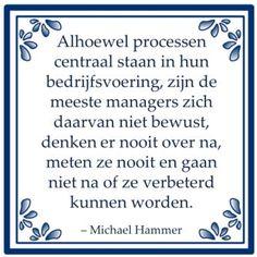 Processen volgens Michael Hammer