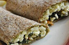 Spinach & Egg White Wrap