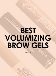 7 volumizing brow gels for Cara Delevingne-status eyebrows.