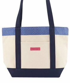 """MLB Texas Rangers Tote Bag by Vineyard Vines. $94.99. Tote canvas trimmed with 100% printed imported silk, Gingham or striped cotton-oxford lining, Handmade in the USA, Zip-top closure, Waterproof bottom, 4 interior pockets, 18"""" x 12"""" x 6"""""""