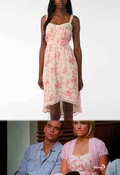 Urban Outfitters Lace-Trimmed Crinkle Dress - $19.99 (reduced from $70!)  fashion from glee -