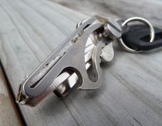 RABBIT: TITANIUM: Key-Holder -- Multi-Function and Super-Compact! Quite Probably The World's Most Compact, Fully-Titanium, Multi-Function Key-Holder!