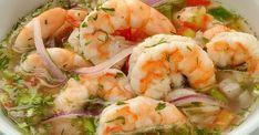 Ceviche de camaron ecuatoriano