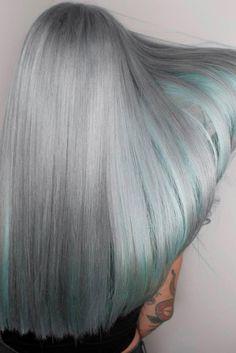 Gray Hair Color Chart