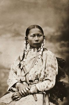 Spotted Fawn, Cheyenne Girl. Photographed in 1878. http://dkcfineart.com/index.php?main_page=index&cPath=1_3_7