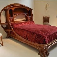 New Art Nouveau Bedroom Furniture Deco Ideas Art Nouveau Bedroom, Art Nouveau Interior, Art Nouveau Furniture, Art Nouveau Design, Design Art, Funky Furniture, Unique Furniture, Vintage Furniture, Furniture Design