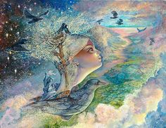 Crows Nest by Josephine Wall