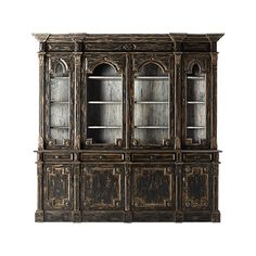 Shop the Apothecary Shop Cabinet at Arhaus.  Love the size and sense of grandeur with this. Not sure if it could hold china or crystal though?