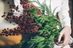 bouquet pour un mariage d'hiver