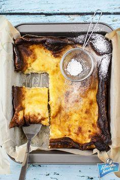 Pannukakku, fiński pieczony naleśnik Cheesecakes, French Toast, Meat, Breakfast, Recipes, Food, Morning Coffee, Essen, Cheesecake