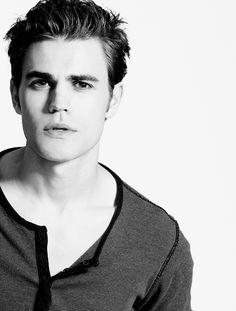 """"""" I think any girl would throw me under a bus to be within five feet of Robert Pattinson. I actually think he's an attractive guy. Paul Wesley Vampire Diaries, The Vampire Diaries 3, Vampire Diaries The Originals, Stefan Salvatore, Real Vampires, The Salvatore Brothers, Vampire Diaries Wallpaper, Michael Trevino, Vampire Dairies"""