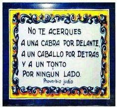 Proverbios...