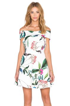 keepsake The Sweetest Thing Mini Dress in Botanic Floral