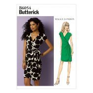Butterick Sewing Pattern 6054 Maggy London Misses' Dress