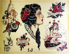 Te presentamos una lista de tatuadores con los que puedes acudir para decorar tu cuerpo, todos ellos especialistas en tatuajes old school.