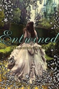 Entwined by Heather Dixon - It's based on the 12 Dancing Princesses Fairy Tale, which is my favorite fairy tale. This was a fun spin on the tale, but I'm still waiting for them to make a movie based on it...