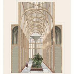 Ruth Pearn envisions public bathhouse to fight period poverty in Yorkshire Arcade Architecture, Architecture Restaurant, Restaurant Interior Design, Architecture Drawings, Interior Architecture, Public Architecture, Architecture Visualization, Historical Architecture, Dezeen
