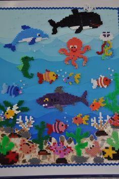Bügelperlen Ozean