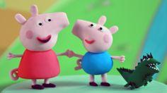 How to make Peppa Pig, George And Mr Dinosaur Fondant Figurines. #cake #tutorial #free #cakeart