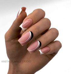 Matte Nail Arts Ideas For The New Year 2020 - Page 5 of 5 - Vida Joven Choose an elegant and simple nails to welcome a new beginning, give yourself a new mood, forget the unpleasantness of last year, and look fo Chic Nails, Stylish Nails, Swag Nails, Nagellack Design, Trendy Nail Art, Nagel Gel, Best Acrylic Nails, Square Nails, Creative Nails