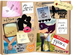 """""""The perfect relationship scrapbook"""" by rainbowtearz ❤ liked on Polyvore"""