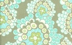 Amy Butler Fabric, Daisy Chain, Dandelion Field Grey, 1 Yard review at Kaboodle