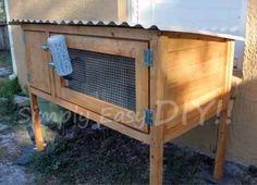 Simply Easy DIY: DIY: Rabbit Hutch Design #2