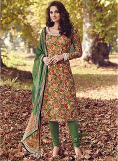 Buy Floral Creations Multicoloured Embroidered Dress Material for Women Online India, Best Prices, Reviews   FL680WA60IYTINDFAS