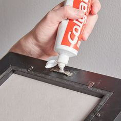 Why You Should Use Toothpaste to Hang a Picture is part of Why You Should Use Toothpaste To Hang A Picture - Hanging picture frames exactly where you want them can be frustrating To get them spoton the first time, put a dab of toothpaste on the back