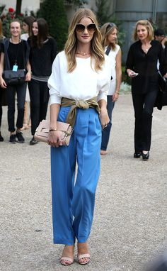El estilo de Rosie Huntington-Whiteley. - Curated by The Rushing Hour Minimal and Ethical Fashion Brand