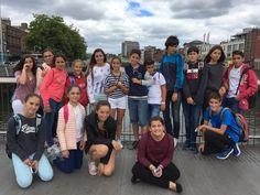 Visitando #Dublín. Alumnos de  #ColegiosISP  en su estancia en  #Irlanda16. ¡Bonita experiencia!