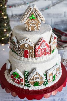 Gingerbread Layer Cake with Fig Filling and White Chocolate Buttercream Recipe - Discover, A World Market Blog