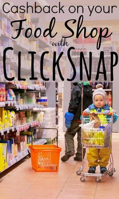 Even after doing the supermarket shop you can still save money on your food bill by using smart phone apps like Quidco's ClickSnap to earn cashback.