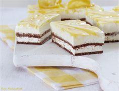 Frischkäse-Zitronen-Schnitten mit einem Boden aus Milch-Schnitte® möchte ich Euch vorstellen.   Die Kombination aus dem süß-schokoladige...