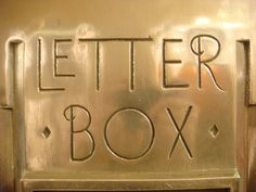 Letter Box, Empire State Building. Found by Nick Sherman.